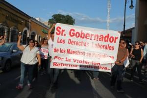 LAS PROTESTAS QUE MOLESTAN A RUBEN MOREIRA