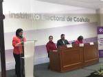 Arman defensa pública a presidenta del IEC