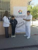 SALUD MUNICIPAL DESARROLLA  CAMPAÑA PREVENTIVA DE DETECCIÓN DE OBESIDAD INFANTIL.