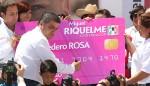 """Entregan """"monedero rosa"""", pero sin recursos"""