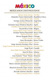 Mexicanos Distinguidos