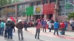 Vuelven antorchistas a manifestarse en presidencia de Saltillo