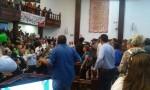 Imposible reanudar trabajos en Congreso por protesta del magisterio