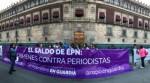 """""""Reporteras en Guardia"""" protestan por crímenes contra periodistas"""