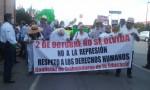 Encabeza obispo Raúl Vera López, marcha de protesta por masacre del 68 y represión contra magisterio de Coahuila.