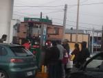 Desabasto de gasolina por compras de pánico en Saltillo