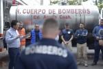 ENTREGAN NOMBRAMIENTO A ENCARGADO DE DESPACHO  DE PROTECCIÓN CIVIL Y BOMBEROS.
