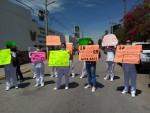 Siguen protestas de enfermeras del IMSS en Coahuila