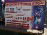 INICIÓ EL DIF CAMPAÑA PREVENTIVA DE DETECCIÓN DE OSTEOPOROSIS  Y ARTRITIS.