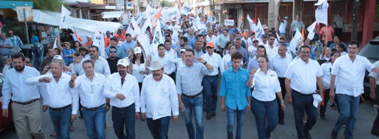 Nueva Rosita dice NO al fraude de Moreira y Riquelme