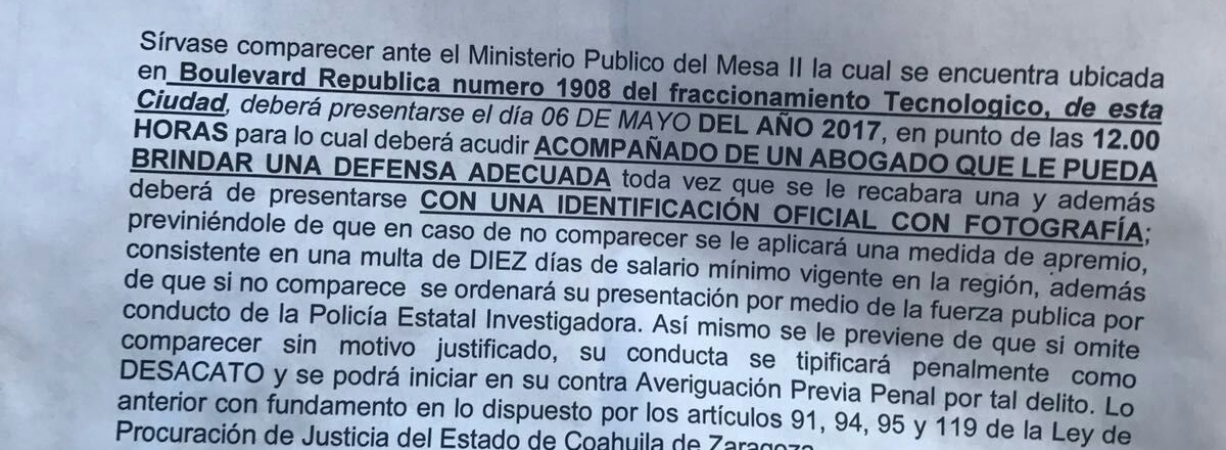 Niega IEC denuncia contra candidato citado por PGJE