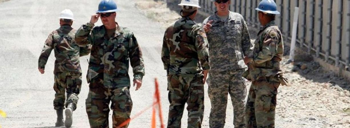 Llega Guardia Nacional de USA a Del Río Texas, son cinco elementos.