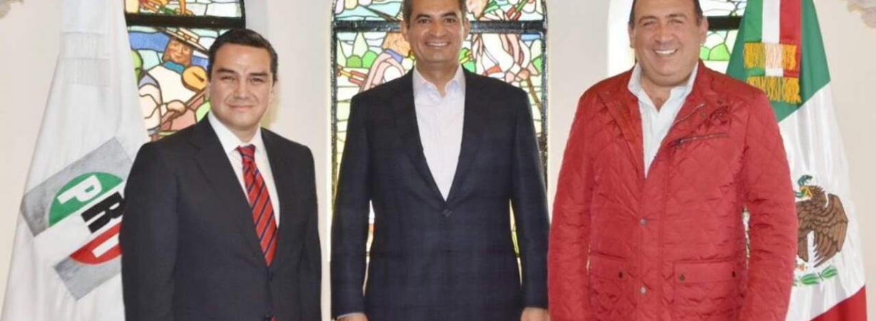 Rubén Moreira, nuevo secretario de organización del PRI
