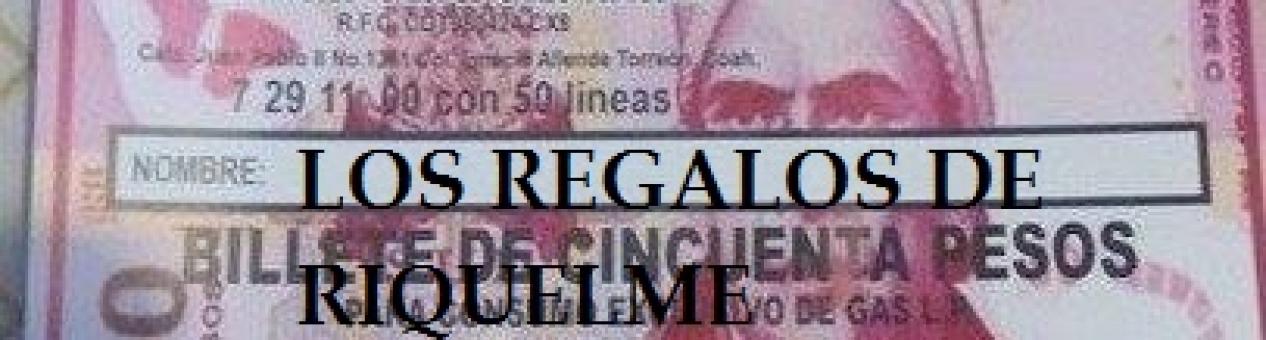 LOS REGALOS DE RIQUELME