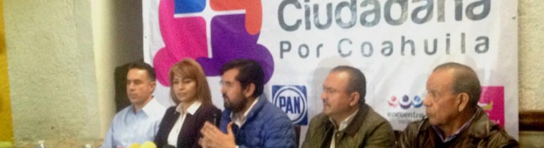 Acusan a Rubén Moreira y al PRI de intimidaciones a la Coalición