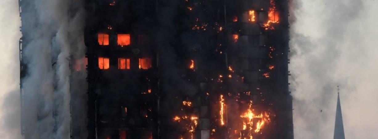 Al menos seis muertos deja incendio en un edificio de Londres