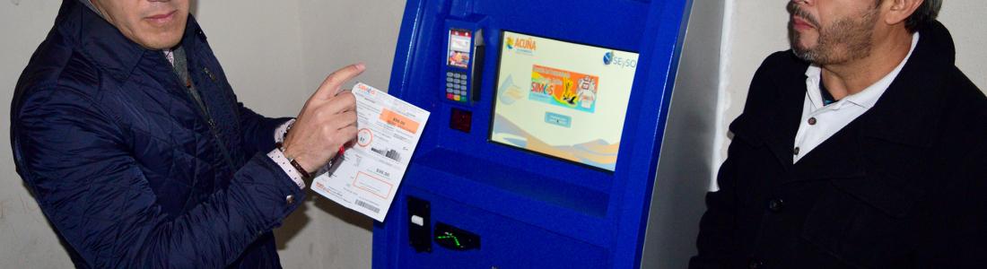 Habilita SIMAS Acuña cajero automático para el pago  de servicio de agua