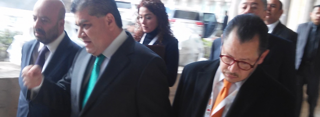 Calla Riquelme ante investigaciones en España