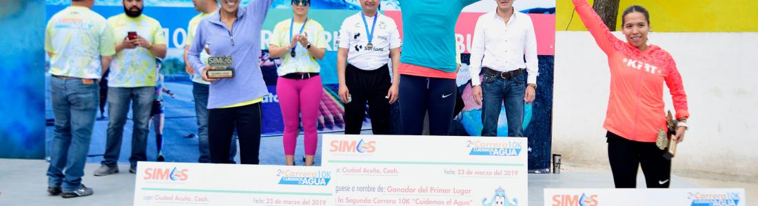"""Un gran éxito Segunda Carrera 10K """"Cuidemos el Agua"""""""