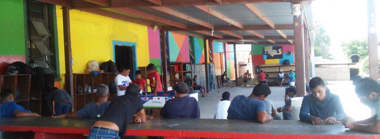 Hostiga PFP a Casa de Migrantes de Saltillo