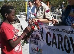 Caravana logra reunir a cinco familias centroamericanas