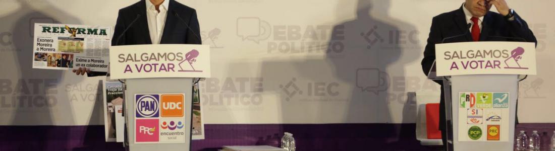 Memo Anaya gana primer debate en Coahuila