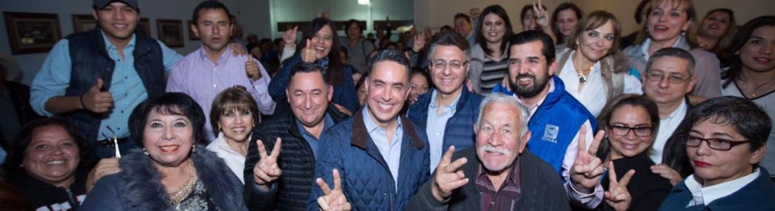 Memo Anaya se compromete a encarnar los valores de Acción Nacional y a hacer justicia en Coahuila
