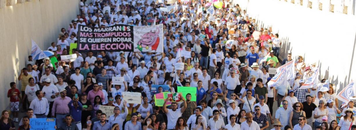 Marchan Miles en rescate de la dignidad de Coahuila