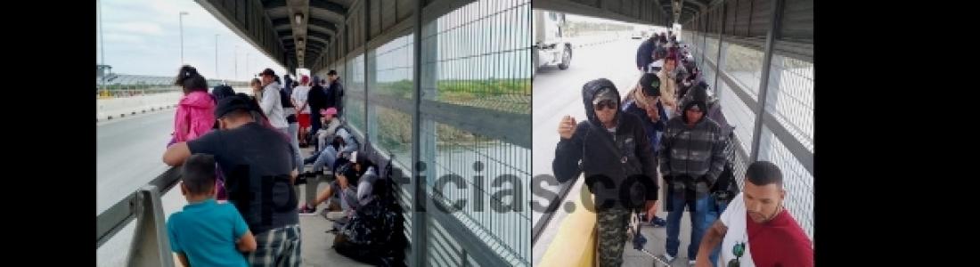 Oculta INM a gobierno de Coahuila manifestaciones de migrantes