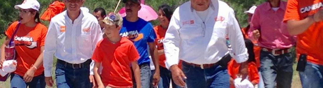 """""""¡Vamos todos juntos hacia adelante por un mejor Coahuila """". Candidatos UDC Alianza Ciudadana"""