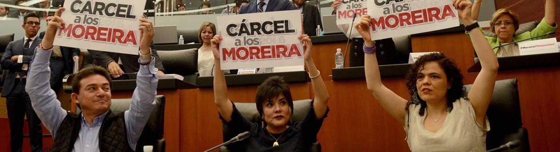 Demuestra el PRI ser la tapadera de los Moreira