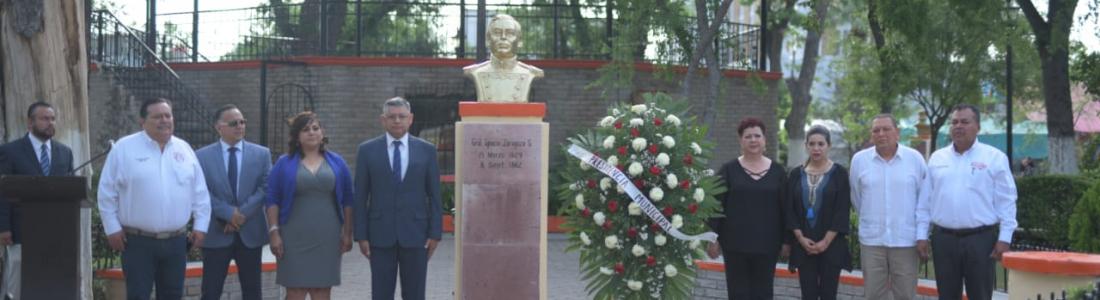 REALIZARON CEREMONIA Y DESFILE CONMEMORATIVO AL  157 ANIVERSARIO DE LA BATALLA DE PUEBLA.