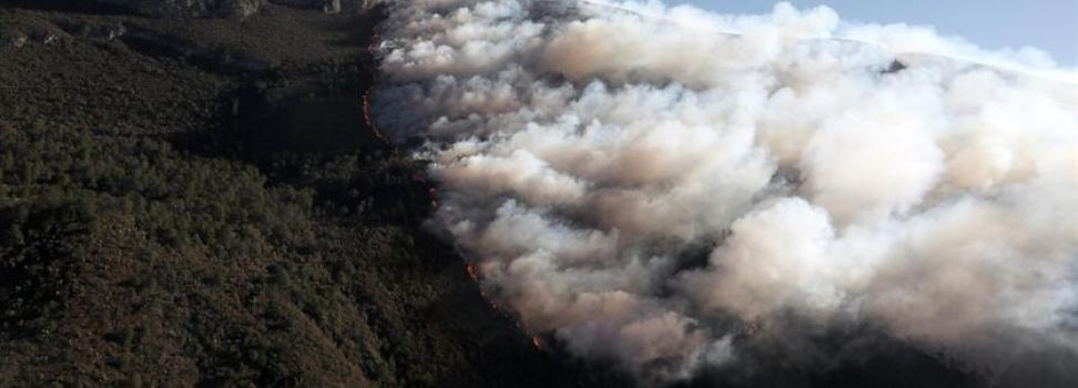 Asume PC nacional coordinación para sofocar incendio y corrige a Riquelme