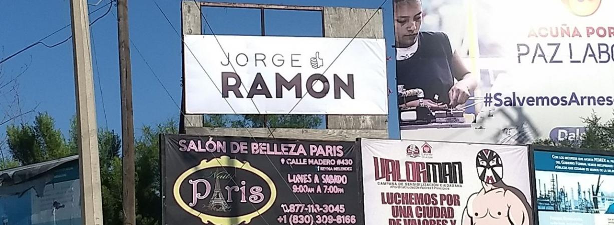 Denunciará UDC actos anticipados de campaña del candidato del PRI Jorge Ramón en Acuña.