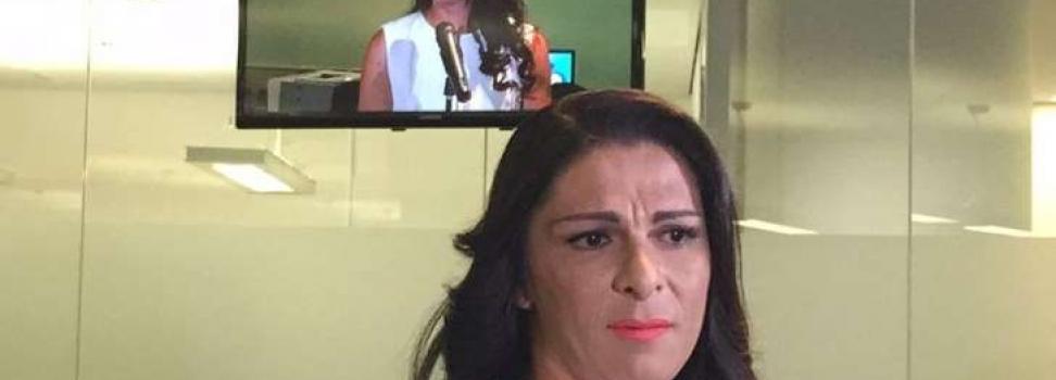 Ana Guevara reitera que no perdonará a su agresor