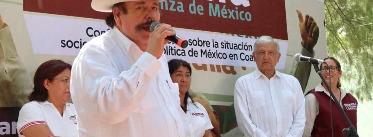 AMLO firma en Morelia acuerdo de Unidad por la Prosperidad y el Renacimiento de México; Coahuila también participará