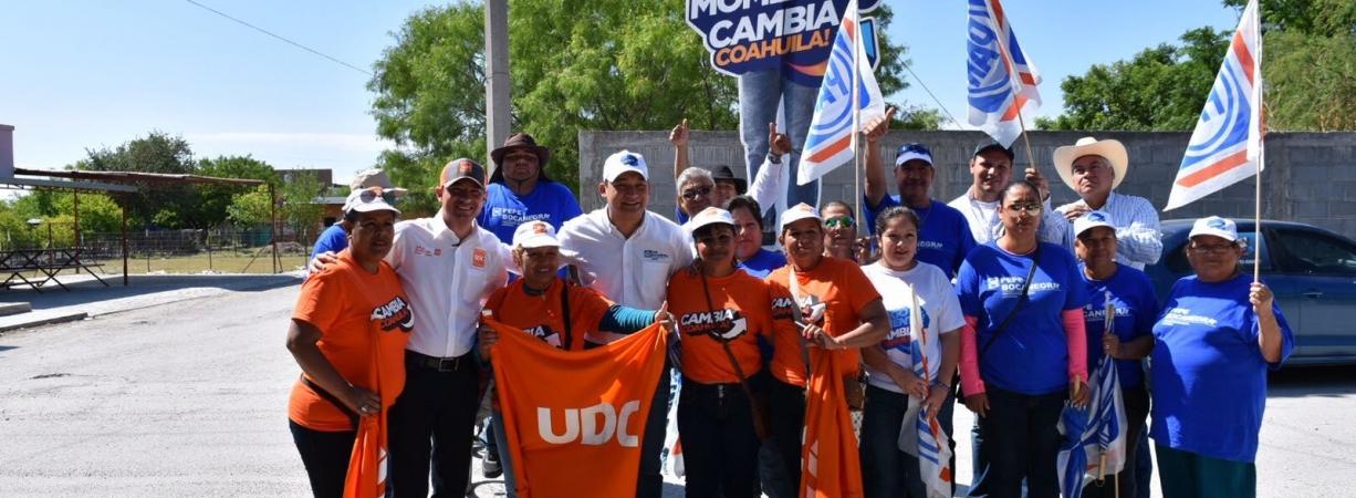Candidatos de Alianza Ciudadana confían en que Acuña tendrá diputado y alcalde naranja y gobernador azul