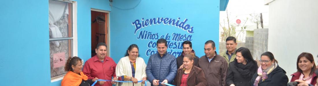 """INAUGURAN EL COMEDOR """"NIÑOS A LA MESA DE JESÚS"""",  EN ALTOS DE SANTA TERESA."""
