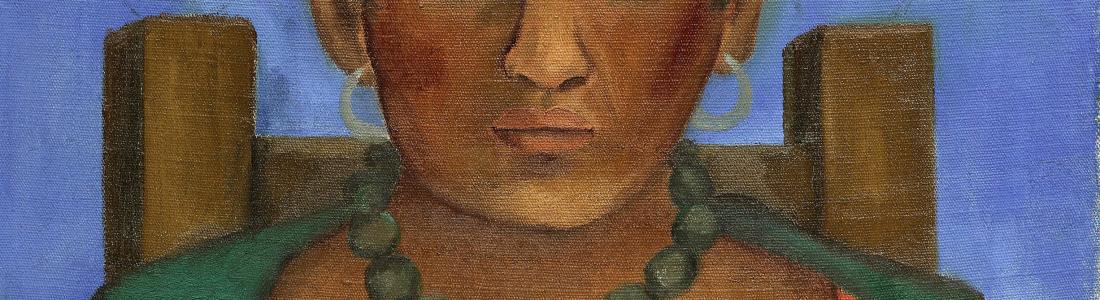 Subastarán 'Niña con collar', cuadro de Frida Kahlo que estaba desaparecido