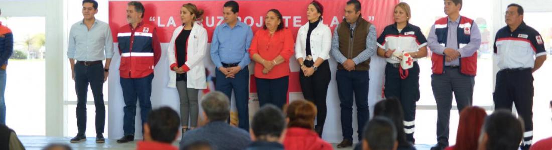 ARRANCAN LA COLECTA ANUAL DE LA CRUZ ROJA, DELEGACIÓN ACUÑA.