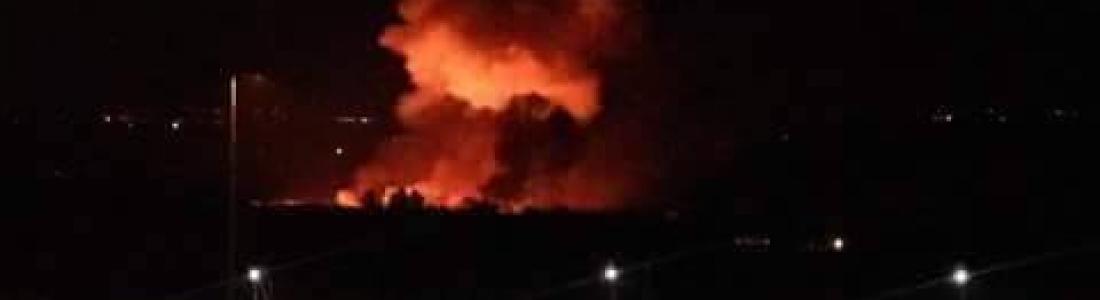 Explosiones golpean el aeropuerto militar de Damasco
