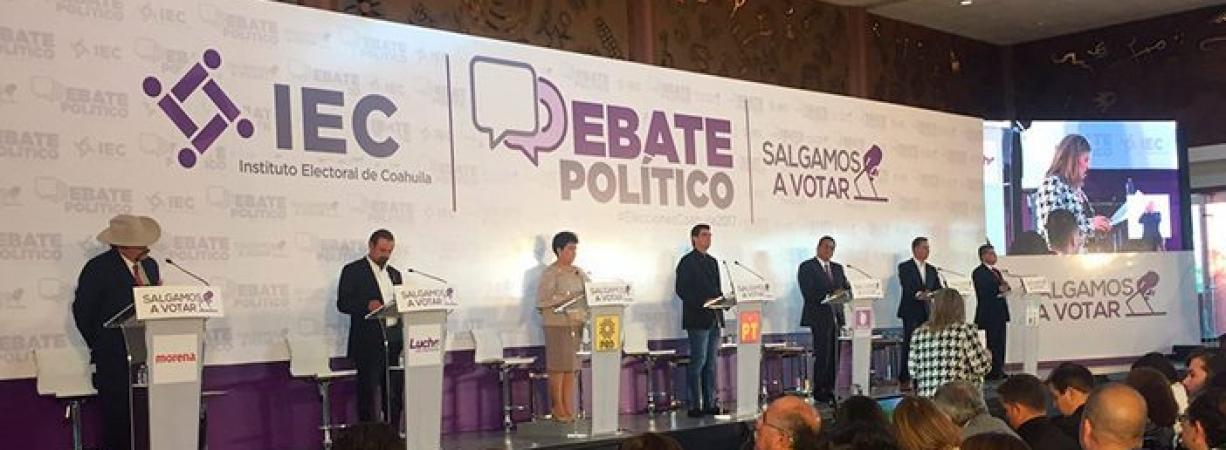 Ataques caracterizan debate de candidatos