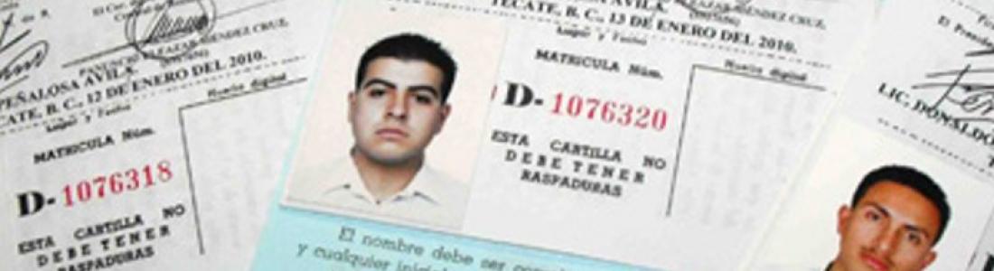 A OCHO DÍAS PARA LA CONCLUSIÓN DEL TRÁMITE DE LA CARTILLA MILITAR,  SÓLO 260 JÓVENES HAN ACUDIDO.