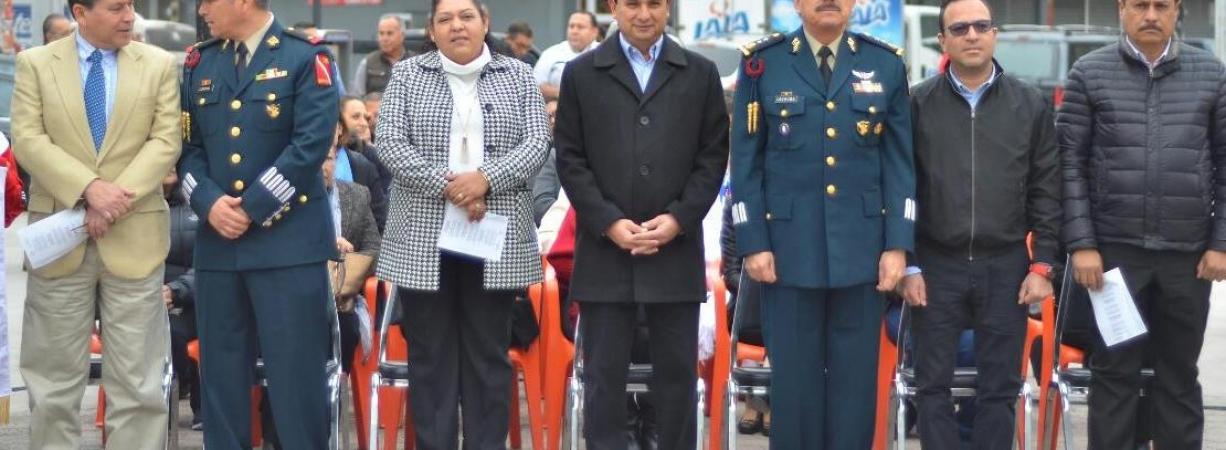 CONMEMORAN EL 101 ANIVERSARIO DE LA PROMULGACIÓN DE LA CONSTITUCIÓN MEXICANA