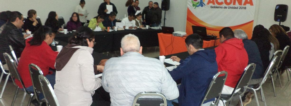 TRABAJARÁN POR HACER DE ACUÑA EL MUNICIPIO PIONERO EN BUEN ARCHIVO.