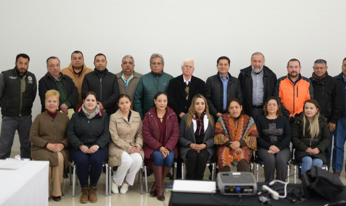 RINDEN PROTESTA MIEMBROS DEL COMITÉ MUNICIPAL DE SALUD DE ACUÑA, COAHUILA