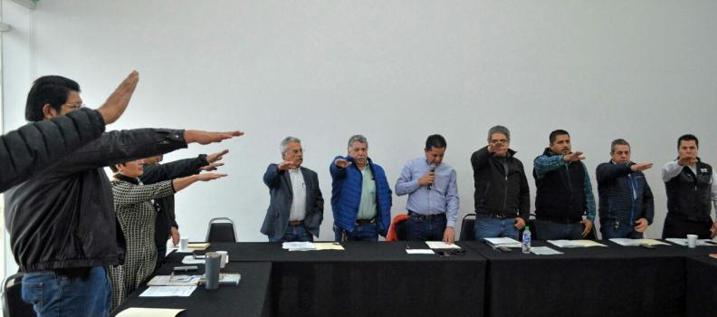 QUEDA CONSTITUIDO EL CONSEJO MUNICIPAL DE DESARROLLO URBANO 2018
