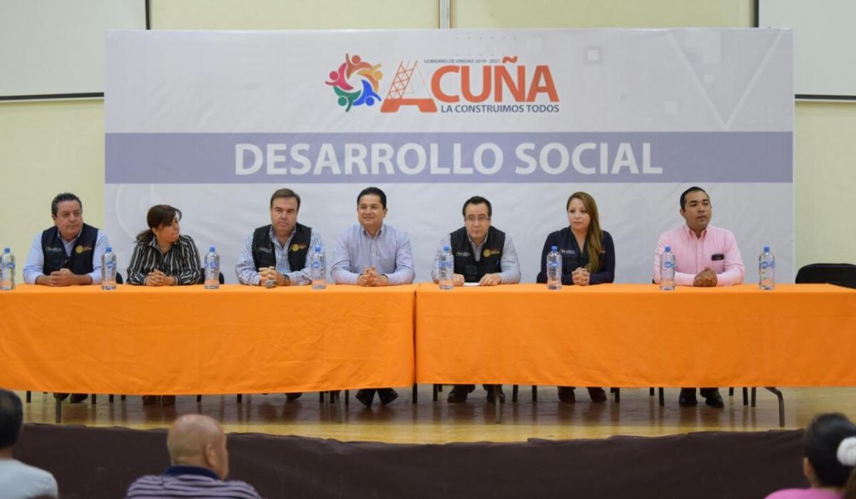 173 FAMILIAS BENEFICIARIAS DEL PROGRAMA DE MEJORAMIENTO DE VIVIENDA FIRMAN CONVENIO CON LA COMISIÓN NACIONAL DE VIVIENDA.