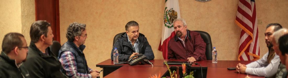 LOGRAN ACUERDO MUNICIPIO Y CILA PARA LIMPIAR EL ARROYO LAS VACAS.