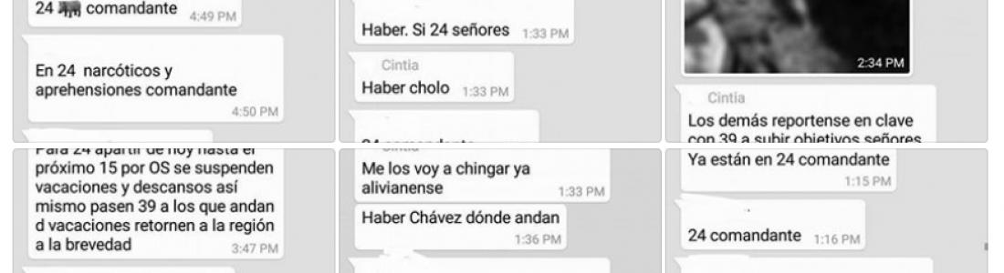 """Truenan agentes investigadores contra comandante en Acuña """"Nos obliga a detener personas inocentes"""""""